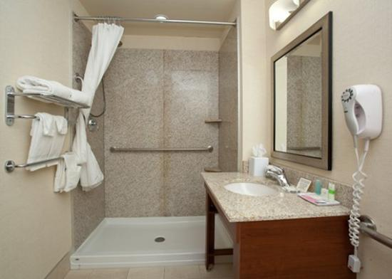 Days Inn and Suites Sherwood Park Edmonton: Bathroom