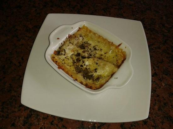 Quito Airport Suites: A Daily Special: the famous beef lasagna