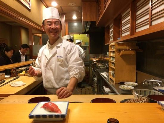 Sushiko Honten: Watching the skillful preparation is as enjoyable as the food