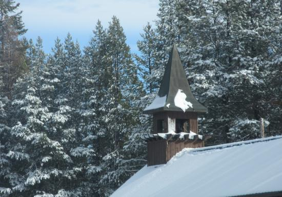 Boreal Mountain Resort: Boreal Ski Museum Roof, Truckee, Ca