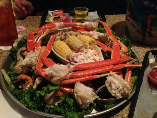 Michael's Seafood Restaurant: Admirals delight for two