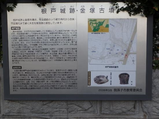 Nedo Castle Site/Naktsuka Tombs