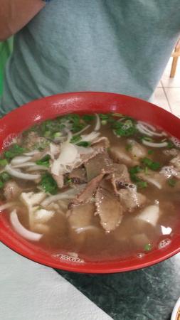 Pho & Bubble Tea: house special beef noodle soup