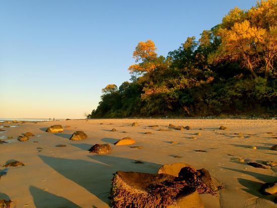 Crane Beach: The beach before sunset