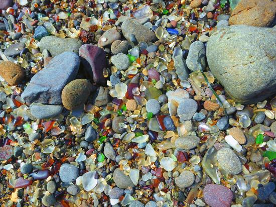 how to get to glass beach fort bragg
