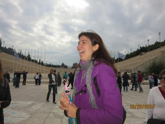 Athens Free Walking Tour : Our delightful guide