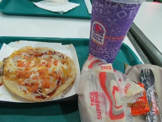 Taco Bell: メキシカンピザコンボ