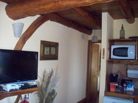 Cabanas La Deseada: Cálido y confortable .