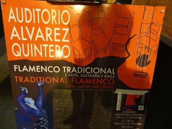 Tablao Alvarez Quintero : Un incontournable sur Seville