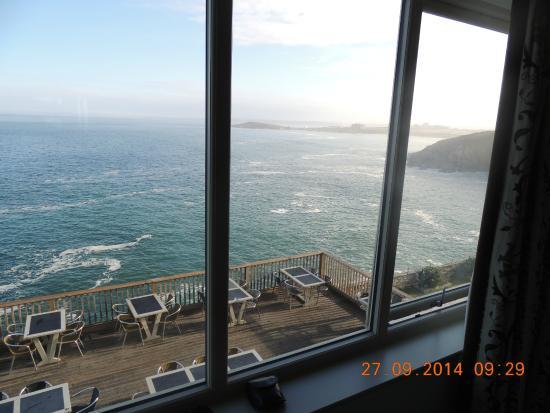 Lewinnick Lodge: ocean view room