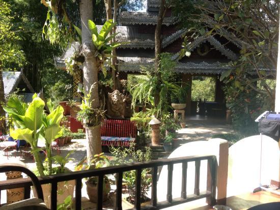 Phu Jaya Mini Resort : Vue de notre terrasse! Top!