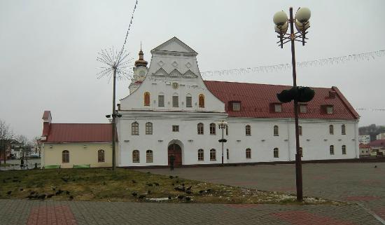 Orsha, Belarus: Макет главного корпуса