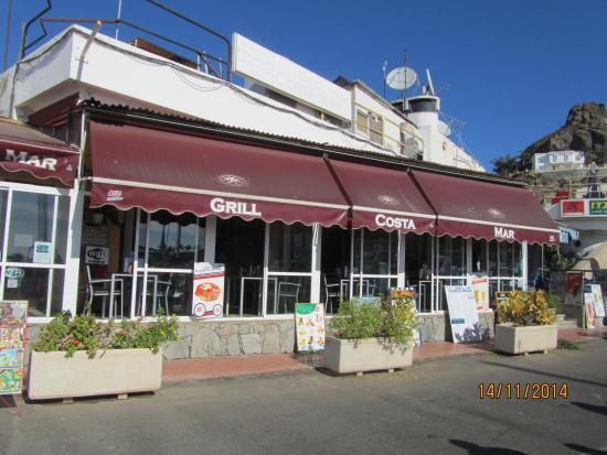 Grill Costa Mar : Front of restaurant