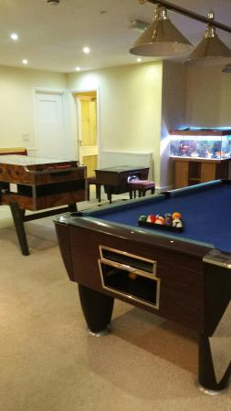 The Quies: Games room