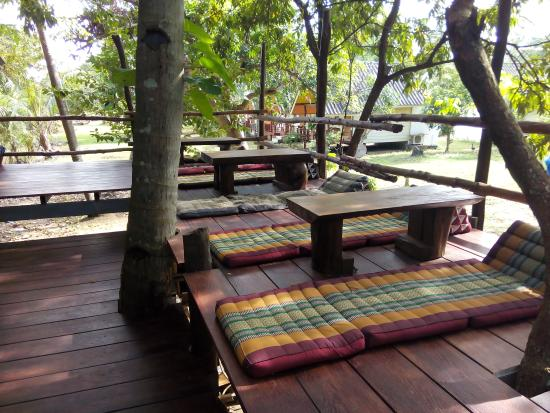 The Funky Fish: Free WiFi on the Tree house restaurant