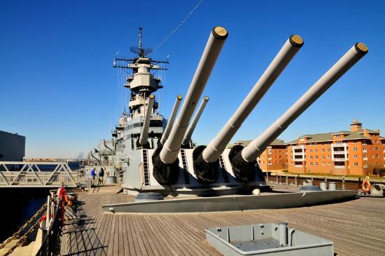 Norfolk, VA: 406 мм, зто не шутка