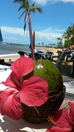 Cabana Ariramba: local de sombra dos coqueiros