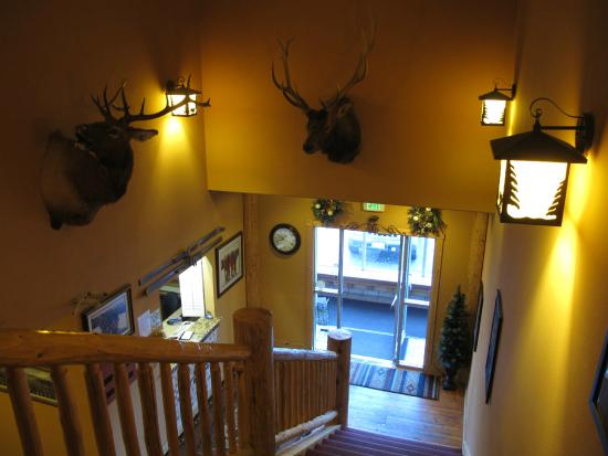 Summit Inn: the lobby