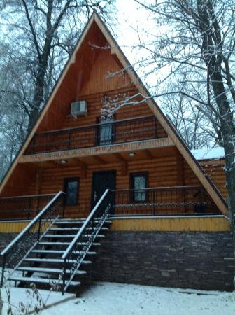 Krasnaya Bashkiriya, Russia: домик