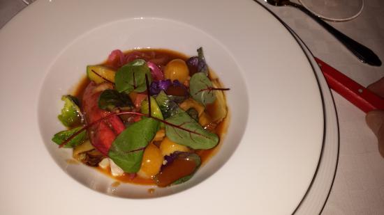 La Petite, Restaurant Francais: warm lobster salad