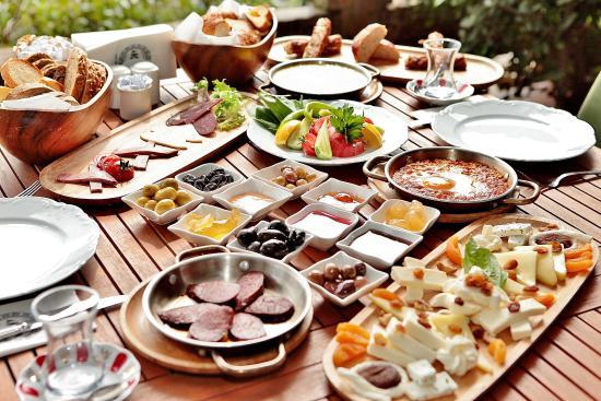 traditional turkish breakfast - Picture of Anonim Turk Bistro ve Tatli ...