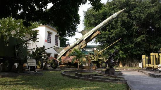 Museo de Historia Militar de Vietnam: 러시아산 미사일