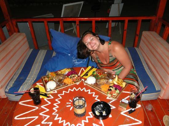 The Sugar Beach Club: Dinner