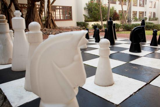 The Wilderness Hotel: Giant Chess