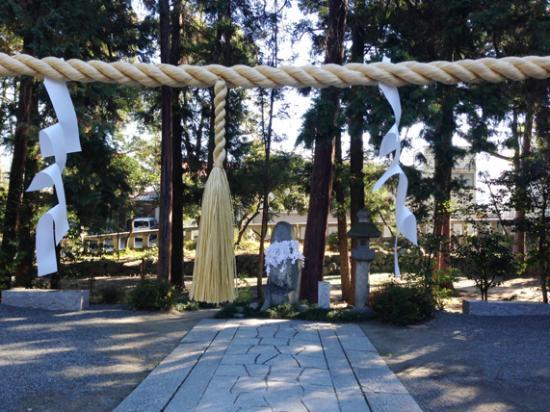 """十二支の石像 - 笛吹市、浅間神社の写真写真: """"十二支の石像"""""""