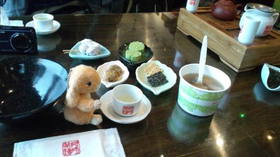 九份阿妹茶酒館, お菓子です
