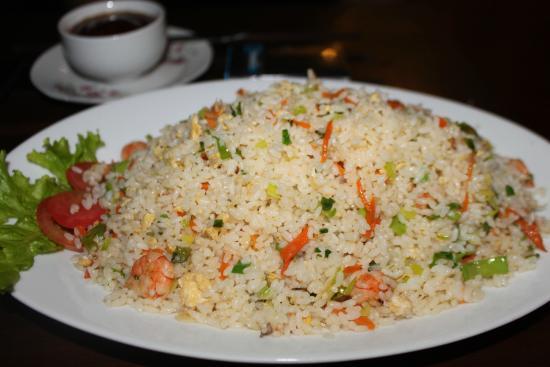 Star Holiday Resort : рис с креветками