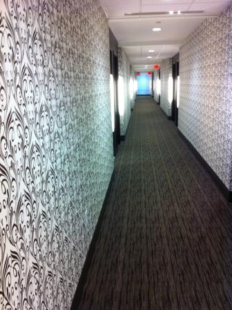 Kent State University Hotel & Conference Center: I like the corridoors