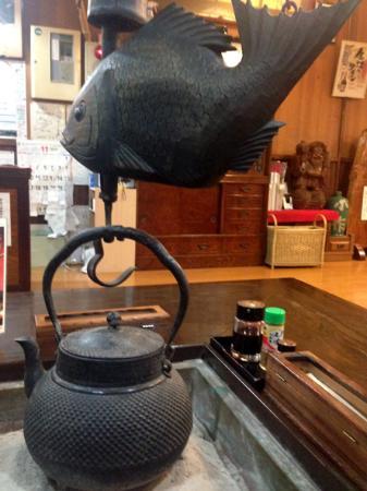 Koshuhoto Kosaku: 囲炉裏がありました。