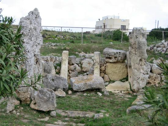 Skorba Megalithic Temples, Zebbiegh, limits of Mgarr