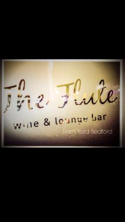 The Flute wine bar