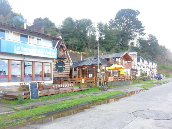 Interior Do Restaurante Picture Of La Terraza Del Volcan