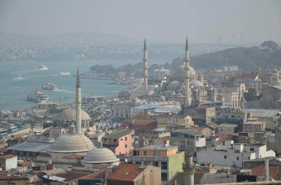 Intrepid Urban Adventures Istanbul: view of Istanbul