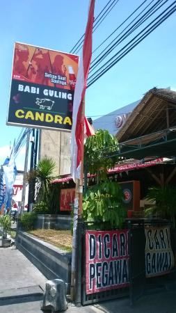 Babi Guling Chandra: Babi Guling Candra khas Denpasar
