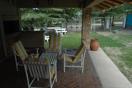 Silver Cord B&B: Patio of our suite