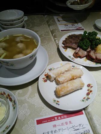 Saiko Shinkan: 飲茶はどれも食べやすいです( ´∀`)