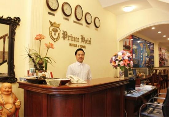 Prince Hotel: Reception hotel