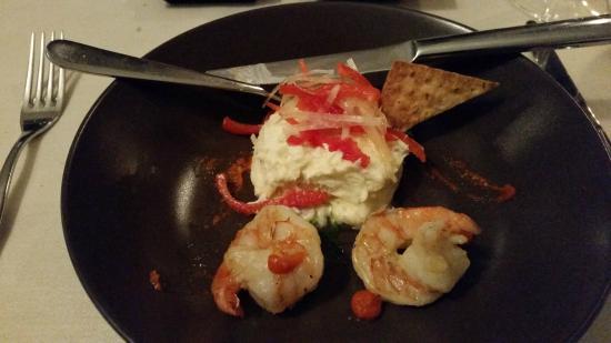 In Geuren en Kleuren: kabeljauw met tiger prawn