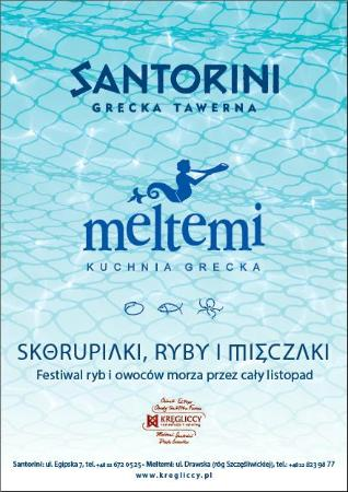 Santorini Tawerna Grecka : SKORUPIAKI, RYBY i MIĘCZAKI-wystartowaliśmy!!! FISH, MOLLUSKS AND CRUSTACEANS – and we're off!!!