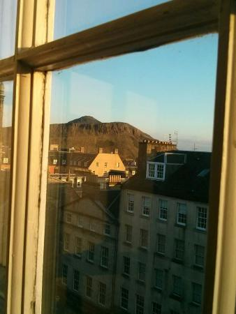 Great view of Arthur's Seat from Apt. 11