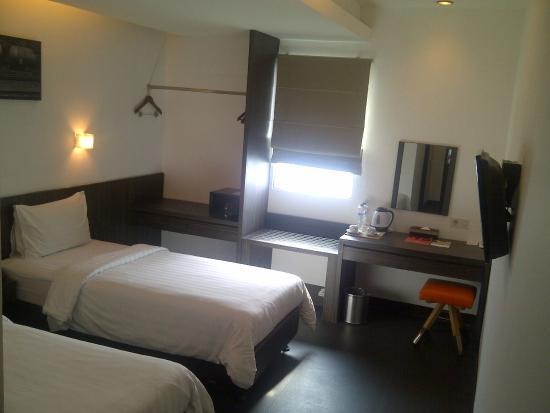 Swiss-Belinn Medan: Ruang tidur (twin bed)