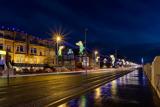 North Ocean Hotel: Blackpool Illuminations