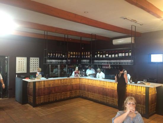 Simonsig: De bar
