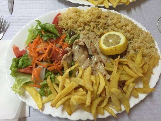 El Rei D'frango : Viande dinde grillé : 5.20 euros