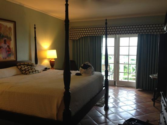 Willikies, Antigua: Our ocean view room 724