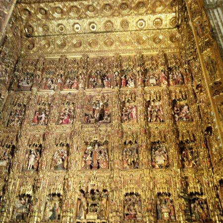 Seville Cathedral Altar 1 Picture Of Seville Cathedral